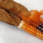 Corn Brown and Orange with Orange R..